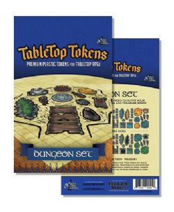 TABLETOP TOKENS -  DUNGEON SET