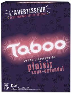 TABOO -  JEU + APPAREIL ÉLECTRONIQUE (FRANCAIS)