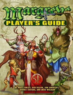 TALES OF THE OLD MARGREVE -  PLAYER'S GUIDE 5E (ANGLAIS) 5E