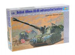 TANK -  BRITISH 155MM AS-90 SELF-PROPELLED HOWITZER 1/35 (DIFFICILE)
