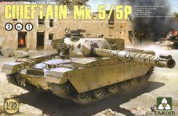 TANK -  BRITISH MAIN BATTLE TANK CHIEFTAIN MK.5/P 2 IN 1 - 1/35
