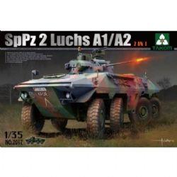 TANK -  BUNDESWEHR SPPZ 2 LUCHS A1/A2 2 IN 1 - 1/35