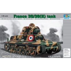 TANK -  FRENCH 35/38 (H) TANK 37MM  - 1/35