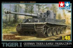 TANK -  GERMAN TIGER 1 EARLY PRODUCTION - 1/48