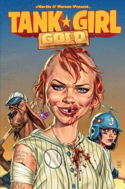 TANK GIRL -  GOLD TP