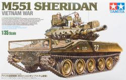 TANK -  M551 SHERIDAN - VIETNAM WAR 1/35 (DIFFICILE)