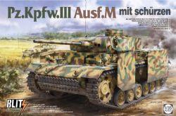 TANK -  PZ.KPFW.III AUSF.M MIT SCHURZEN - 1/35