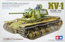 TANK -  RUSSIAN HEAVY KV-1 MODEL 1941 EARLY PRODUCTION 1/35