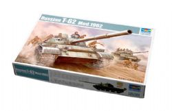 TANK -  RUSSIAN T-62 MOD.1962 1/35 (DIFFICILE)