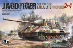 TANK -  SD.KFZ.186 JAGDTIGER EARLY/LATE PRODUCTION 2IN1 - 1/35