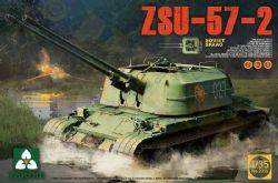 TANK -  SOVIET SPAAG ZSU-57-2 2 IN 1 - 1/35