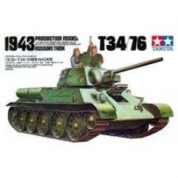 TANK -  T34/76 RUSSE (1943) 1/35 (DIFFICILE)