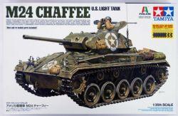 TANK -  US LIGHT TANK M24 CHAFFEE 1/35