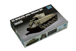 TANK -  US M4A3E8 WITH 105 M4 1/72 (MOYEN)