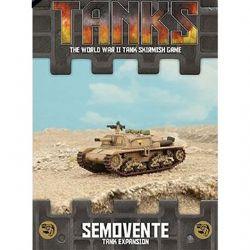 TANKS -  ITALIAN SEMOVENTE - TANK EXPANSION (ANGLAIS)