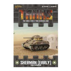 TANKS -  SHERMAN (EARLY) - TANK EXPANSION (ANGLAIS)
