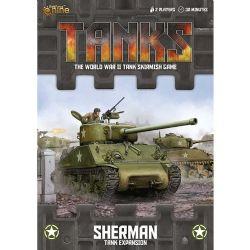 TANKS -  SHERMAN - TANK EXPANSION (ANGLAIS)