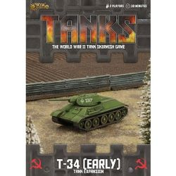 TANKS -  T-34 (EARLY) - TANK EXPANSION (ANGLAIS)
