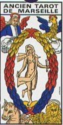 TAROT -  ANCIEN TAROT DE MARSEILLE (GRAND FORMAT)