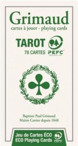 TAROT -  GRIMAUD - ÉCOLOGIQUE - (78 CARTES)