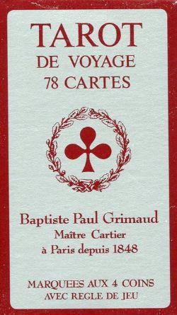 TAROT -  GRIMAUD - MARQUÉES AUX 4 COINS - (78 CARTES)