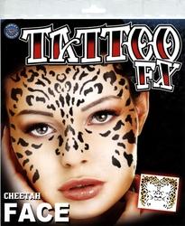 TATTOO FX -  VISAGE DE GUEPARD