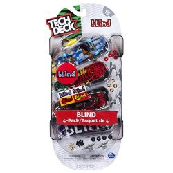 TECH DECK -  BLIND - PAQUET DE 4