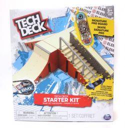 TECH DECK -  TECH DECK - RAMPE ET SKATE 2 3