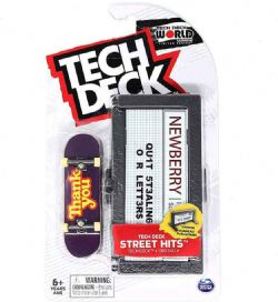 TECH DECK -  THANK YOU -  STREET HITS
