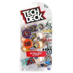 TECH DECK -  ULTRA DLX - PAQUET DE 4 (ALIEN WORKSHOP + HABITAT)