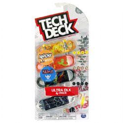 TECH DECK -  ULTRA DLX - PAQUET DE 4 (ALMOST ENJOI + BLIND DARKSTAR)