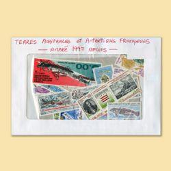 TERRES AUSTRALES ET ANTARCTIQUES FRANÇAISES -  ANNÉE COMPLÈTE 1997, TIMBRES NEUFS