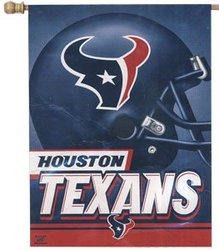 TEXANS DE HOUSTON -  DRAPEAU VERTICAL 27