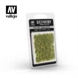 TEXTURE POUR BASE -  WILD TUFT - DENSE GREEN (6 MM) -  SCENERY