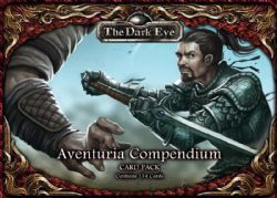 THE DARK EYE -  AVENTURIA COMPENDIUM - THE CARD PACK (ANGLAIS)