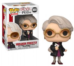 THE DEVIL WEARS PRADA -  FIGURINE POP! EN VINYLE DE MIRANDA PRIESTLY (10 CM) 869