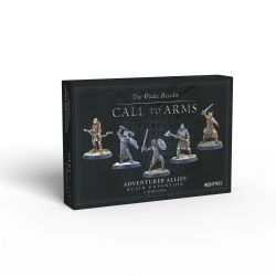THE ELDER SCROLLS: CALL TO ARMS -  ADVENTURER ALLIES RESIN EXPANSION