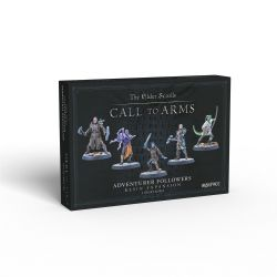 THE ELDER SCROLLS: CALL TO ARMS -  ADVENTURER FOLLOWERS RESIN EXPANSION