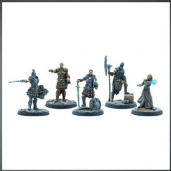 THE ELDER SCROLLS: CALL TO ARMS -  OFFICIERS IMPÉRIAUX RESIN EXPANSION