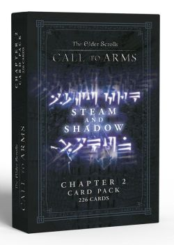 THE ELDER SCROLLS: CALL TO ARMS -  STEAM AND SHADOW : CHAPTER 2 CARD PACK (ANGLAIS)