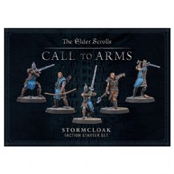 THE ELDER SCROLLS: CALL TO ARMS -  STORMCLOAK FACTION STARTER SET