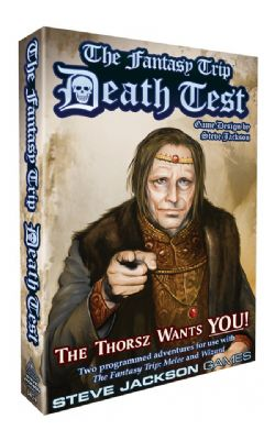 THE FANTASY TRIP -  DEATH TEST (ANGLAIS)