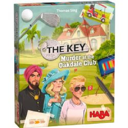 THE KEY -  MURDER AT THE OAKDALE CLUB (ANGLAIS)