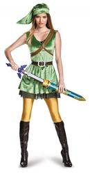 THE LEGEND OF ZELDA -  COSTUME DE LUXE DE LINK (ADULTE)