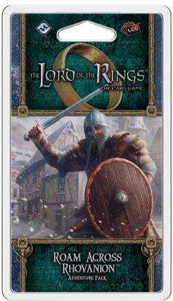 THE LORD OF THE RINGS : THE CARD GAME -  ROAM ACROSS RHOVANION - ADVENTURE PACK (ANGLAIS)