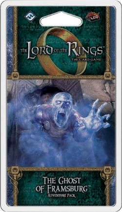 THE LORD OF THE RINGS : THE CARD GAME -  THE GHOST OF FRAMSBURG - ADVENTURE PACK (ANGLAIS)