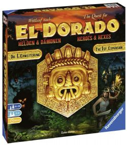 THE QUEST FOR EL DORADO -  HEROES AND HEXES (ANGLAIS)