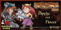THE RED DRAGON INN -  SPYKE AND FLOWER -  ALLIES