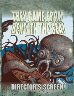 THEY CAME FROM BENEATH THE SEA! -  DIRECTOR SCREEN (ANGLAIS)