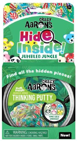 THINKING PUTTY -  JUMBLED JUNGLE -  HIDE INSIDE